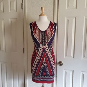 Forever 21 Stretch Aztec Dress